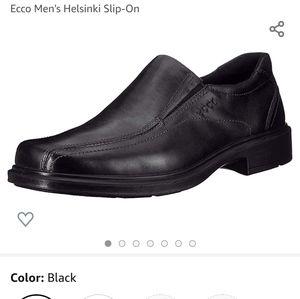 ECCO Helsinki Leather Slip-On Shoes